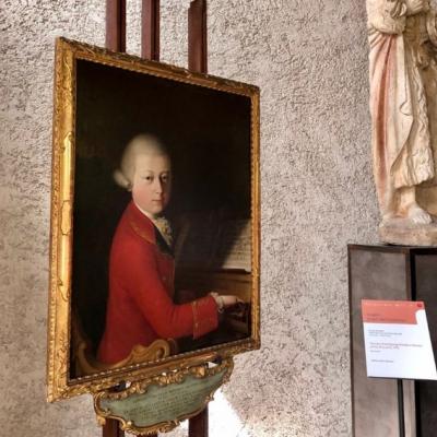 Ritratto del giovane Mozart